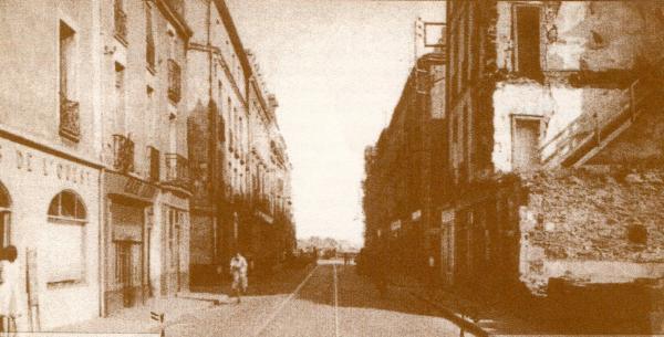 Madeleine chaussée de la (autrefois rue d'Orient)