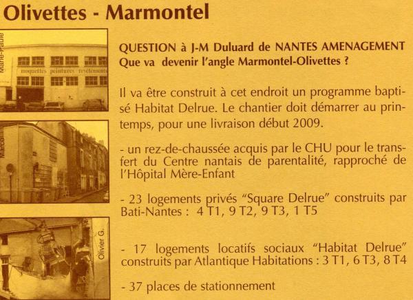 Marmontel rue (autrefois rue des Fumiers)